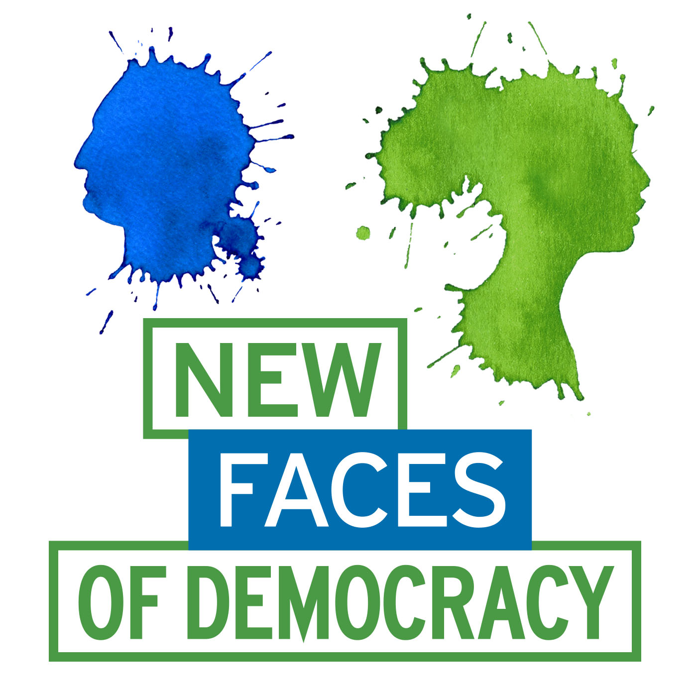 New Faces of Democracy Podcast Logo - Causepods Guest